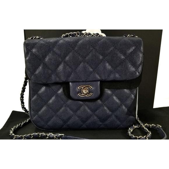 ae96c758257c CHANEL Handbags - 18P CHANEL Urban Companion Quilted Caviar Flap Bag